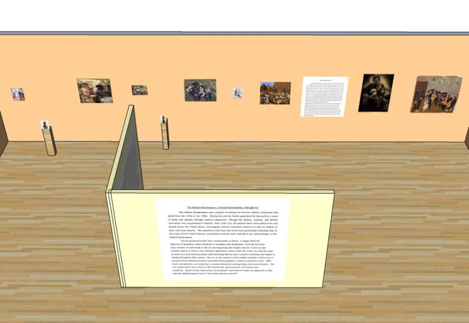 Virtual Exhibition Gallery: The Mosaic Project