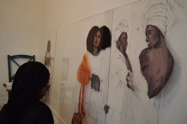 Black Womanhood | Artist, Kosisochukwu Nnebe