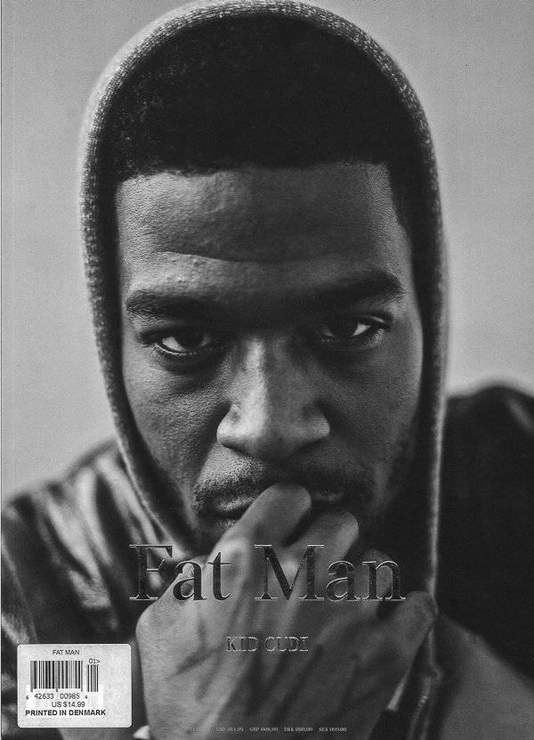 KID CUDI BY VAN SARKI. FAT MAN, ISSUE A, 2014.