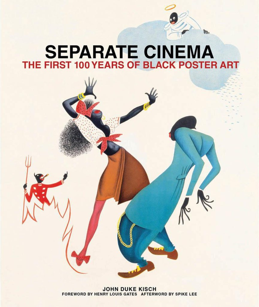 Book Cover | SEPARATE CINEMA: The First 100 Years of Black Poster Art