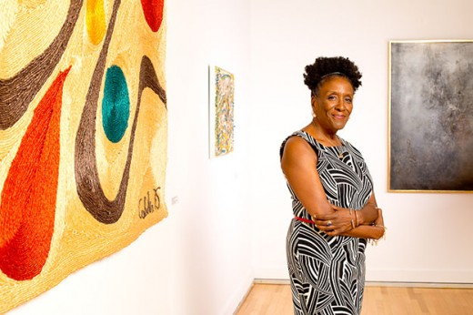 Tina Dunkley built the collection of Clark Atlanta University Galleries from 291 piece to more than 1,200. Photo courtesy Clark Atlanta University.