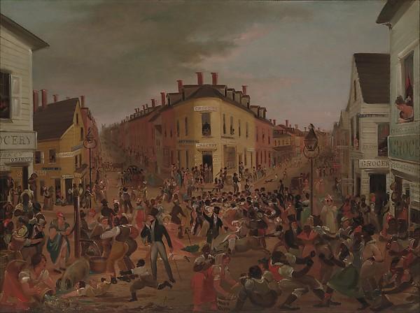 Public Domain Art: Five Points, 1827 | ART | library deco