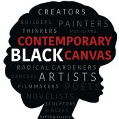Contemporary Black Canvas