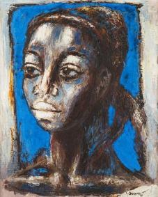 blue-head-1961- gerad sekoto