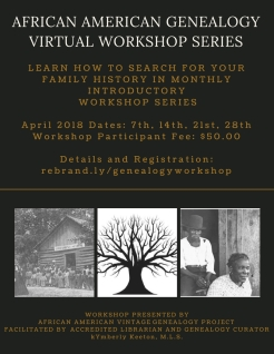 Genealogy Workshop Series