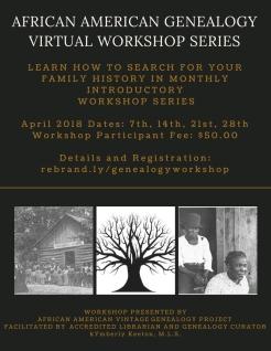 Genealogy Workshop Series