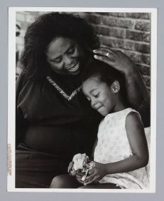 Photograph of Fannie Lou Hamer with her granddaughter,Mississippi, 1971, by Louis Draper Collection of the SmithsonianNational Museum of AfricanAmerican History and Culture,© The Estate of Louis H. Draper, Image Credit: National Museum of African American History & Culture