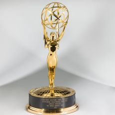 Daytime Emmy Award for Outstanding Talk/ServiceShow Host presented to Oprah Winfrey (1986-1987)On loan from Harpo, Inc., Image Credit: National Museum of African American History & Culture